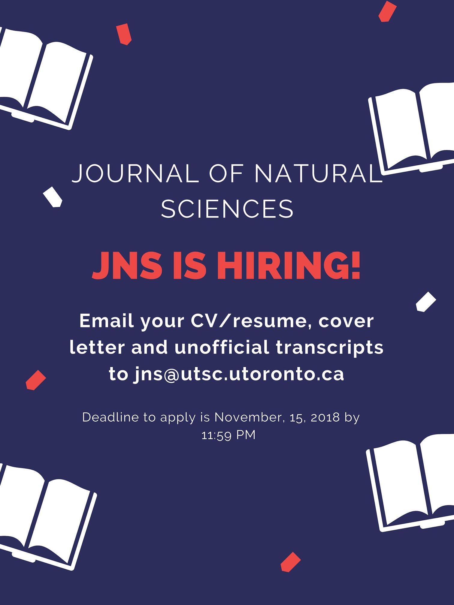 JNS Poster