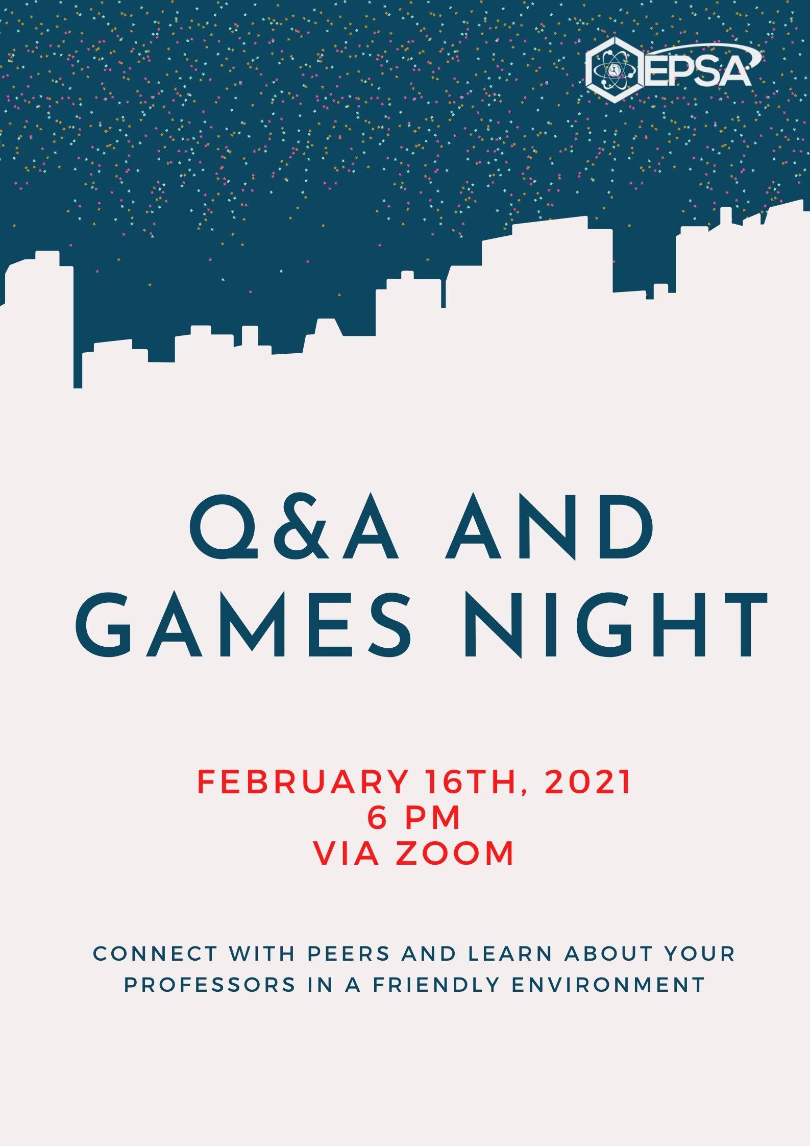 1st year games night_QA