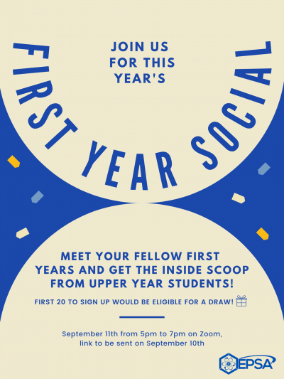 First year social
